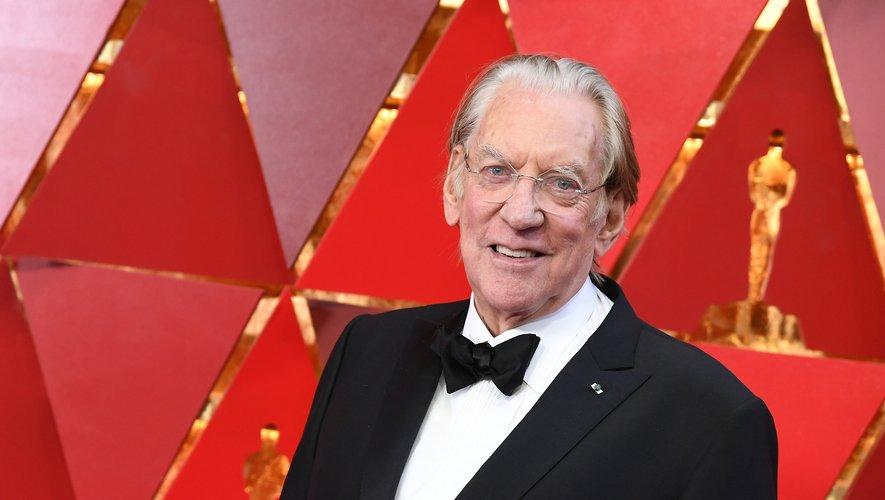 Donald Sutherland va être honoré au Festival de Saint-Sébastien (Espagne).