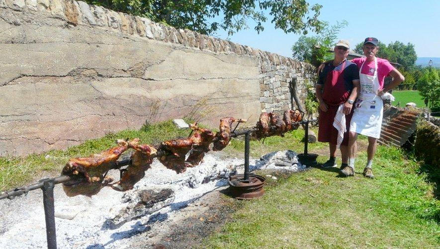 Le traditionnel méchoui estival a régalé les convives