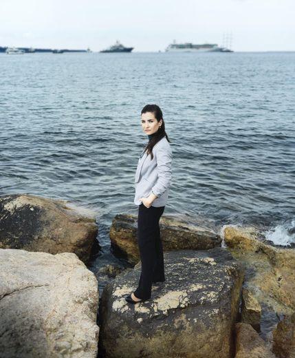 La réalisatrice syrienne Waad Al-Kateab.