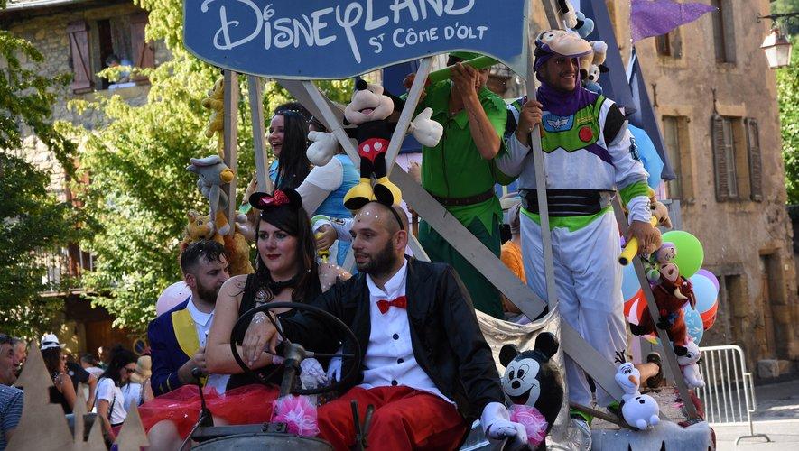 A Saint-Come, c'était Disney Land !