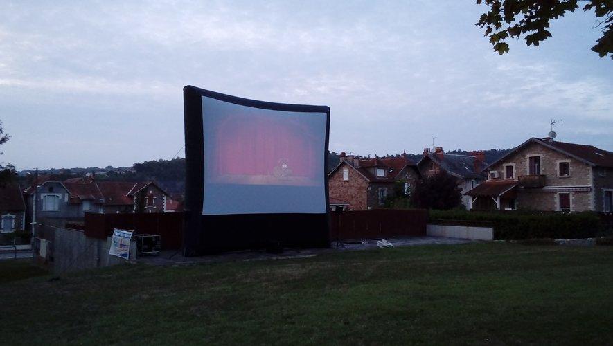 L'écran géant sera installé dans le parc de Capèle.