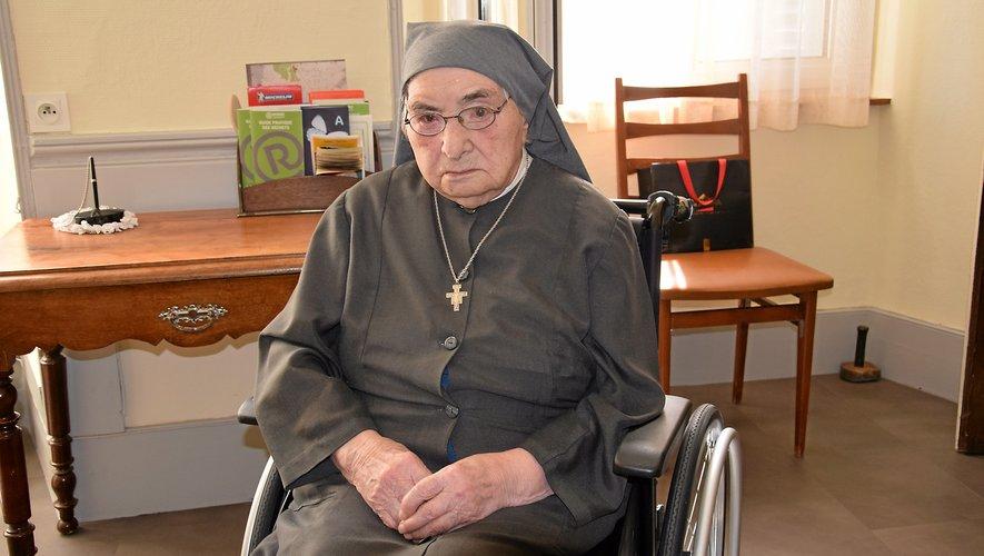 Sœur Dosithée vient de fêter son 110e anniversaire.