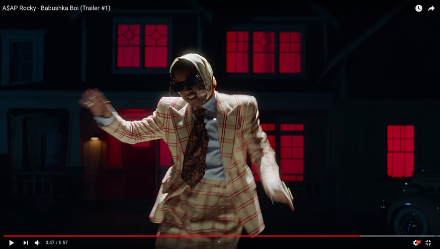 """ASAP Rocky a partagé une étonnante bande-annonce pour son dernier projet intitulé """"Babu$hka Boi""""."""
