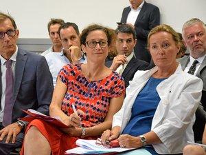 La représentante du gouvernement a longuement échangé avec les divers intervenants.