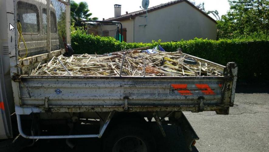 L'individu avait dérobé près de 660 kilos de cuivre et de laiton.