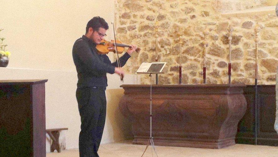 Le jeune musicien vénézuélien  a enthousiasmé un public conquis.