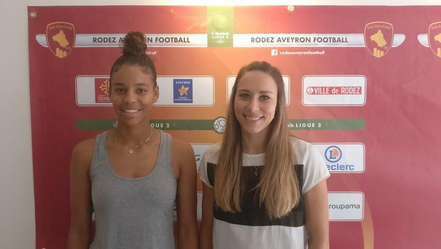Olivia Mbala et Anne-Laure Davy, deux nouveaux visages chez les Rafettes.