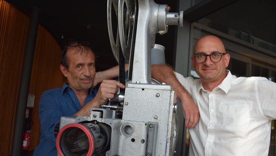 Igor Sakiroff et Yann Marie, cinéphiles et organisateurs  de l'événement.