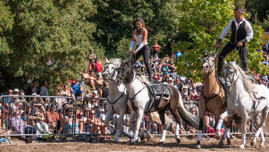 Des spectacles équestres seront une nouvelle fois au rendez-vous du festival.