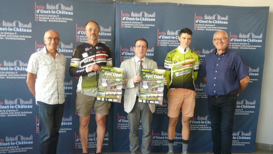 La Mairie soutient Vélo 2000 Onet dans l'organisation de la Cycl'Onet.