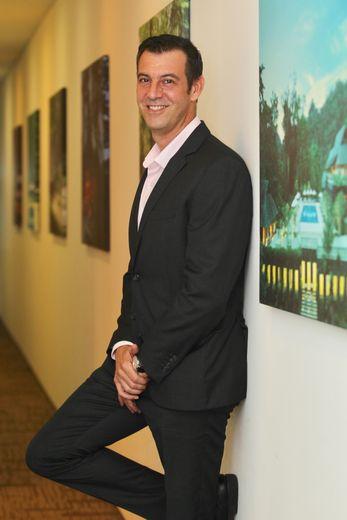 Arnaud Girodon, directeur d'un des plus beaux palaces de la planète.