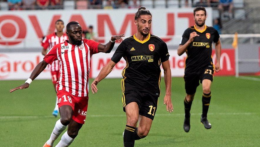 L'attaquant du Raf a marqué son troisième but de la saison, vendredi, face à l'ASNL.