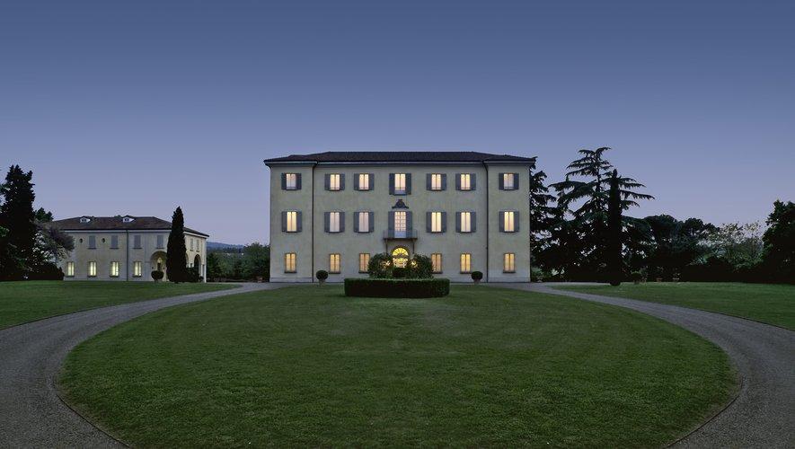 La marque Furla lancera prochainement sa première fragrance. Ci-dessus la Villa Furla à Bologne.