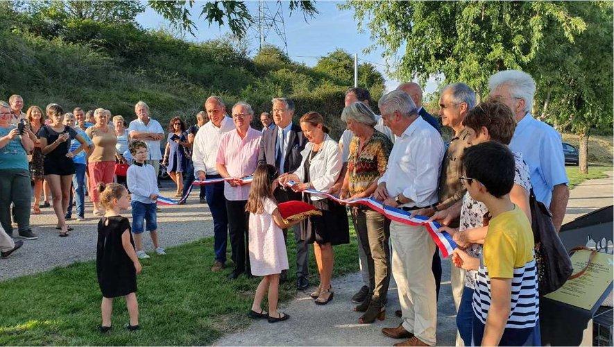 Les élus ont salué le travail des entreprises locales et félicité la mise en valeur du patrimoine