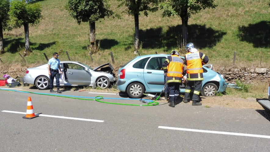 L'accident a eu lieu sur la RD 920, commune d'Estaing.