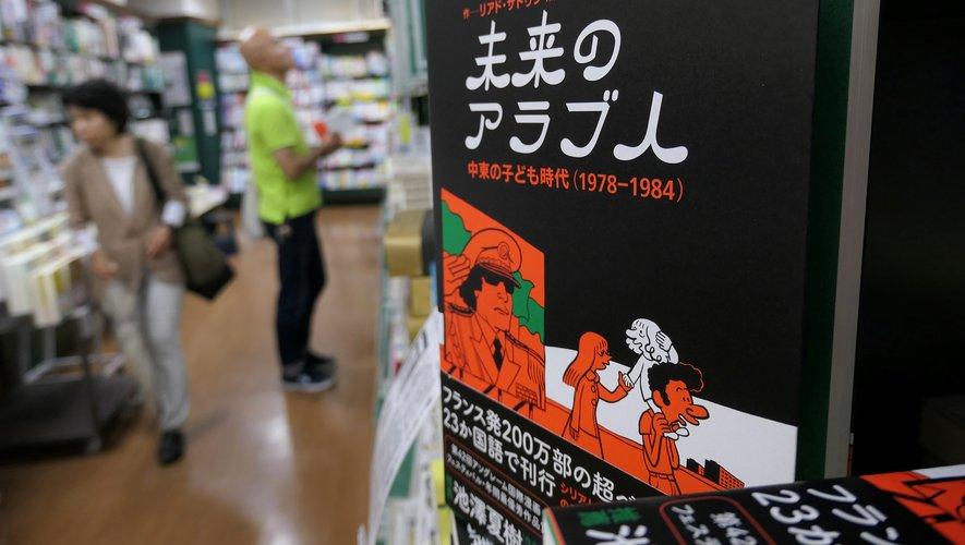 Environ 10% des librairies nippones proposent de la bande dessinée étrangère