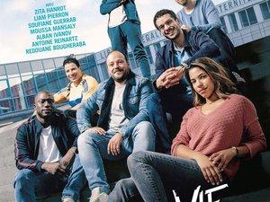 """""""La vie scolaire,"""" film de Grand Corps Malade et Mehdi Idir sur un collège sensible de banlieue parisienne, avec Zita Hanrot, Alban Ivanov et Liam Pierron, est entré directement à la première place du box office français pour sa première semaine en"""