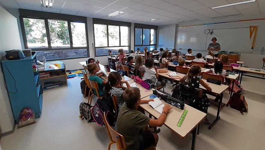 Des salles de classe flambant neuves poour cette rentrée à l'école Sainte-Procule.