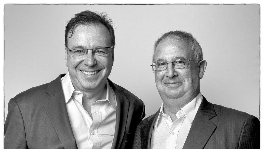 Thierry Desseauve (à gauche) et Michel Bettane (à droite) ont compilé les meilleures affaires à moins de 10 euros de la Foire aux vins 2019