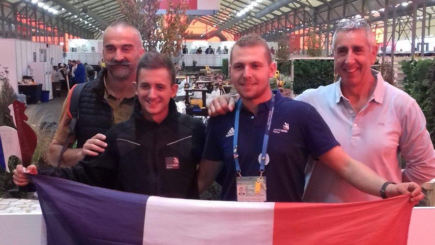 Laurent Burguière, Baptiste Fabre, Louis Solignac, Jean-Marc Volpellier.