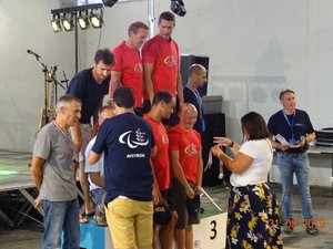 L'épreuve VTT a été remportée par les joueurs de Camjac.