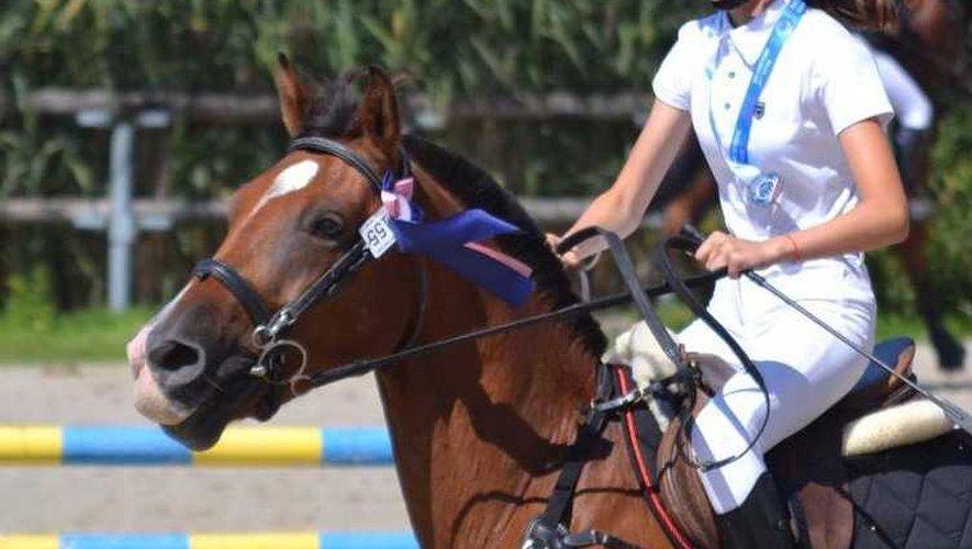 Chloé Edmond, vice championne C3 Sologn'Pony 2019