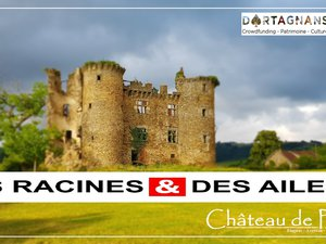 Le château de Pagax va recevoir les caméras des Racines et des Ailes.