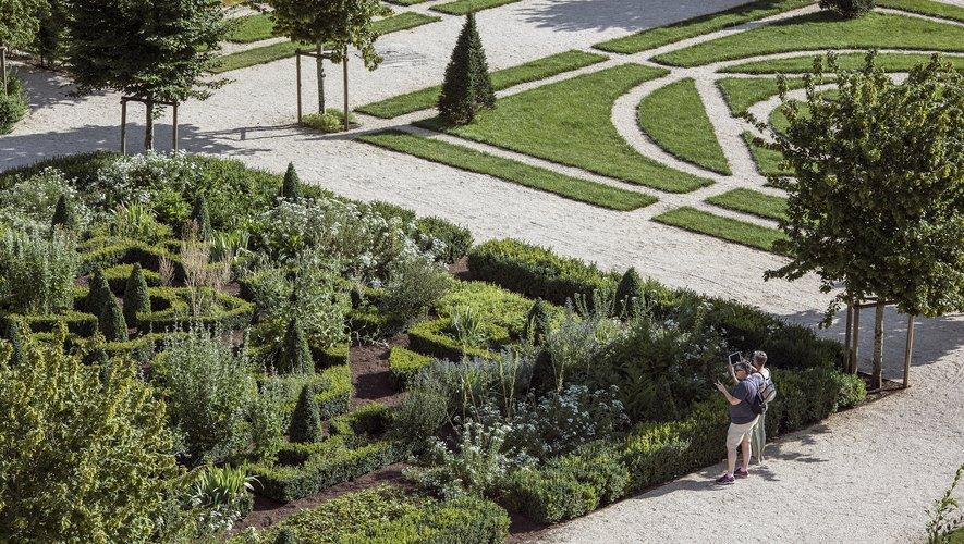 Un jardin tout simplement remarquable.
