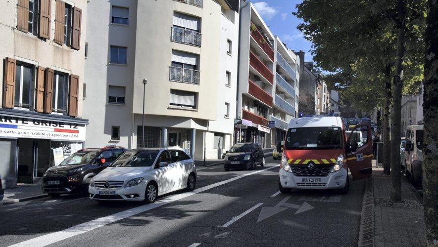 Une dame a été renversée rue saint-Cyrice, ce vendredi 6 septembre.