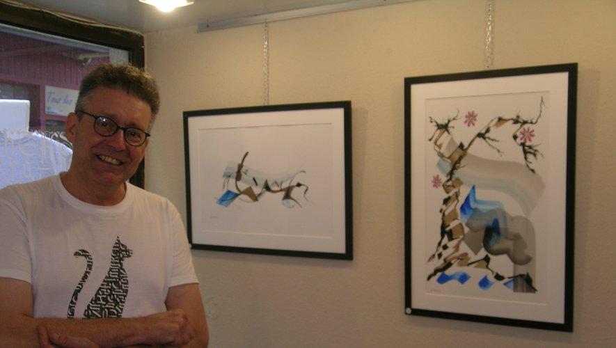 Xavier Piton, une référence dans l'art de la calligraphie.