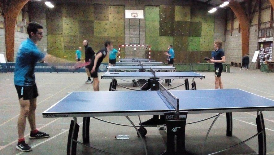 Le tennis de table se pratique au gymnase de Sainte-Foy.