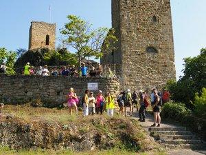 La visite du site du Fort figurait au programme.