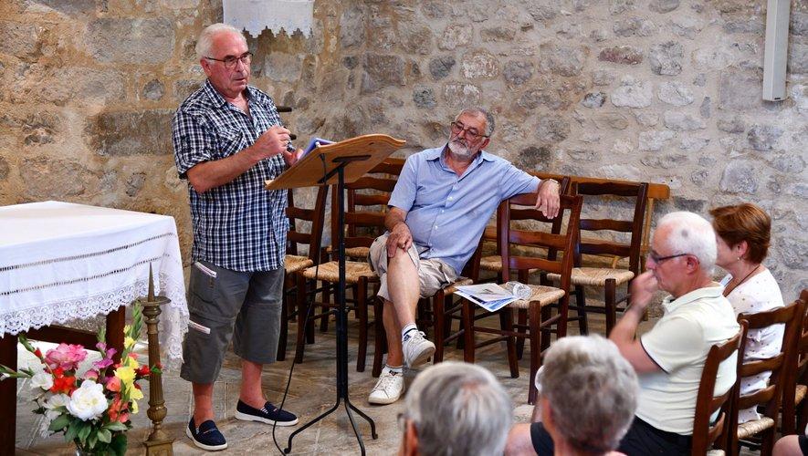 Michel Maffre et André Romiguière, deux conteurs hors pair.