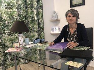 Barbara Perez a ouvert son cabinet 11 rue Saint-Jacques à Villefranche./Photo MCB