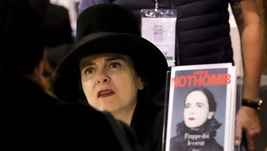 """Amelie Nothomb est en lice pour le Goncourt avec son dernier roman """"Soif"""""""