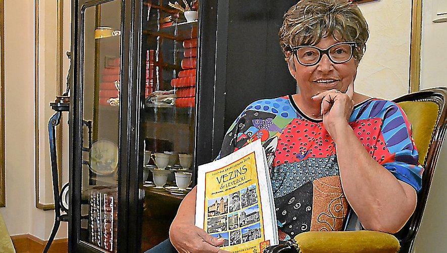 Vice-présidente du Cercle, Suzanne Barthe coordonne l'édition des livres chaque année.