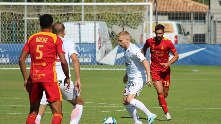 Montpellier et Rodez s'affrontaient en amical aujourd'hui à Grammont.