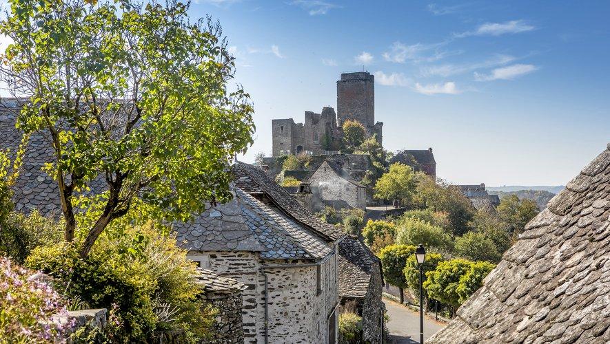 Le château de Valon : un panorama sur les gorges de la Truyère à couper le souffle. Classé site remarquable de France et d'Europe.