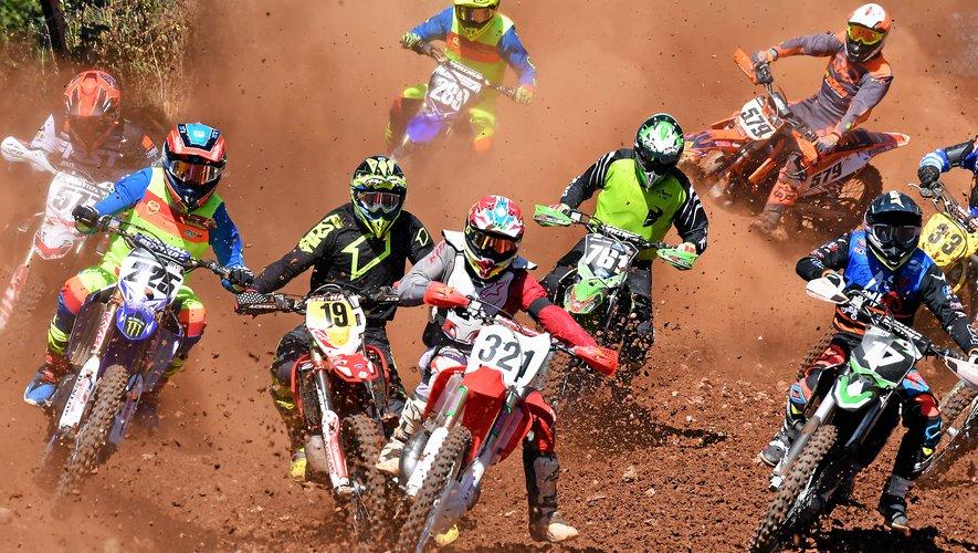 Le motocross de Rodez, une épreuve toujours spectaculaire.