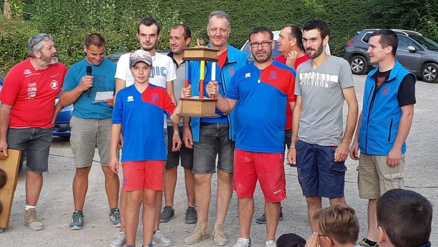 Lassouts remporte le challenge cantonal par équipe, tandis que Marc Balmettes de Saint Côme devient le meilleur individuel.