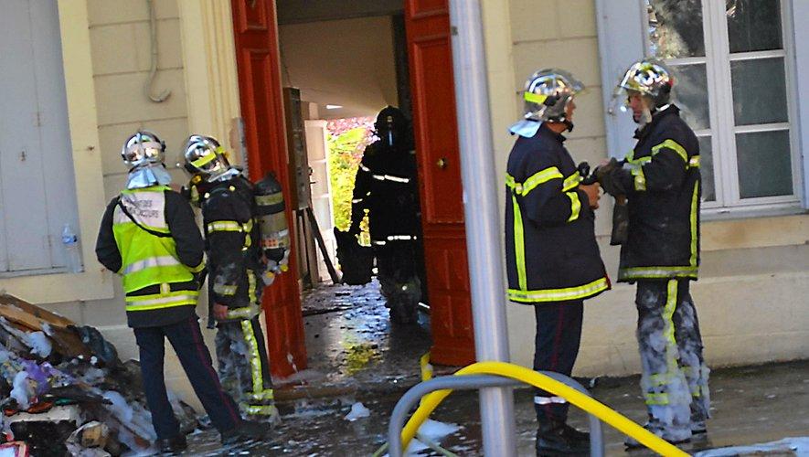 Il aurait déclenché au moins six incendies en centre-ville de Millau le 4 août dernier.