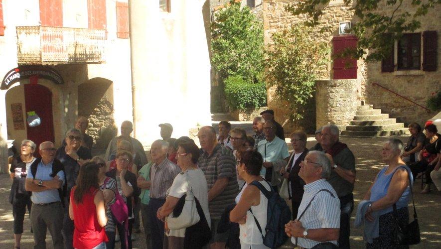 Les adhérents ont découvertles charmes du Sud-Aveyron.