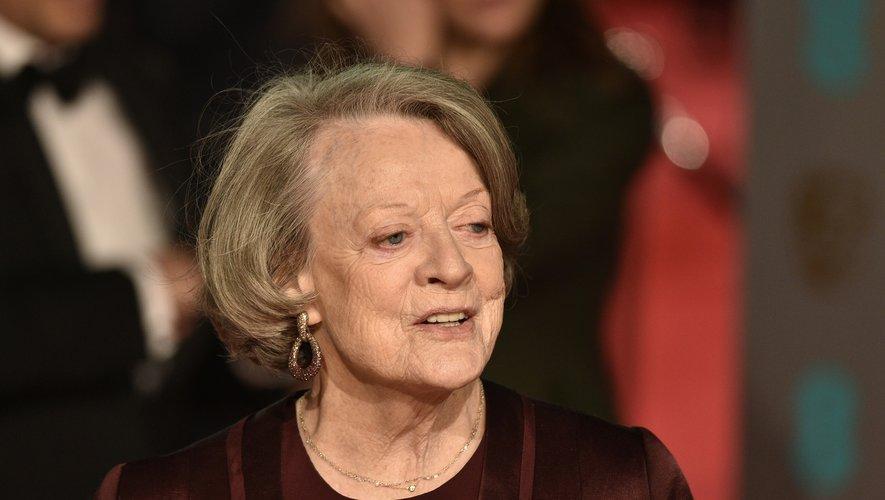 """Maggie Smith est à l'affiche de l'adaptation grand écran de """"Downton Abbey"""", attendue le 25 septembre en France"""