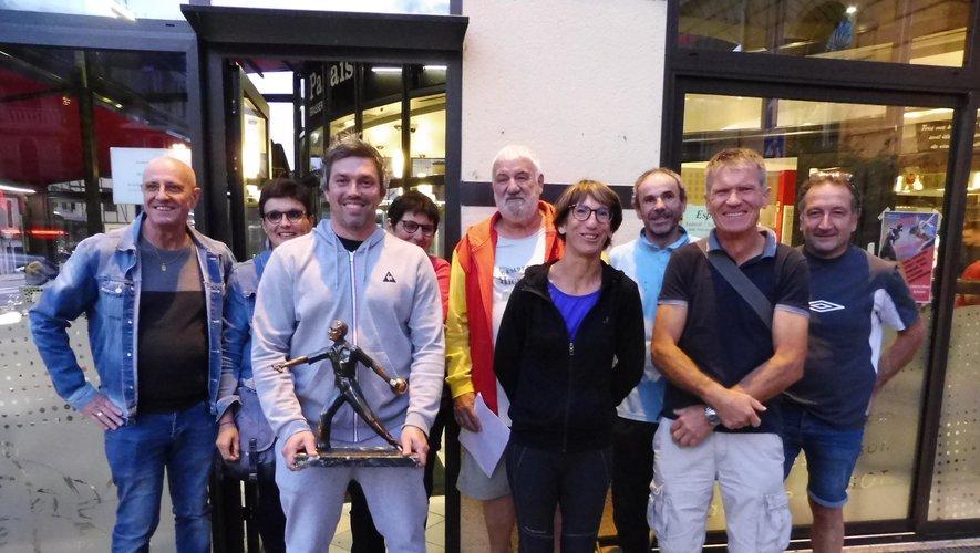 Fabien Druot lauréat du challenge Robert-Mazars