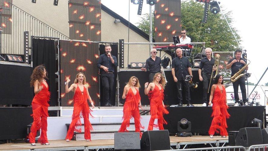 Le groupe « Trait d'Union » a séduit le public par son répertoire éclectique.