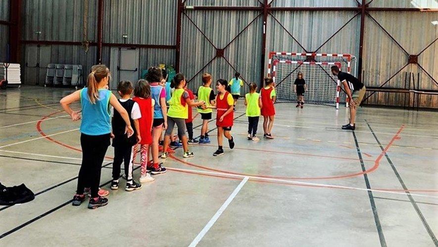 Les travaux du gymnase de Baraqueville obligent provisoirement la délocalisation des entraînements.