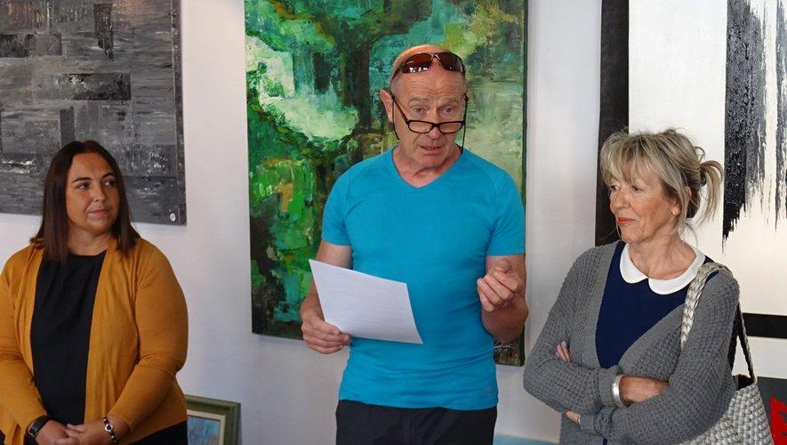 Karine Clément, Alain Marty, Claudine Cavalier.