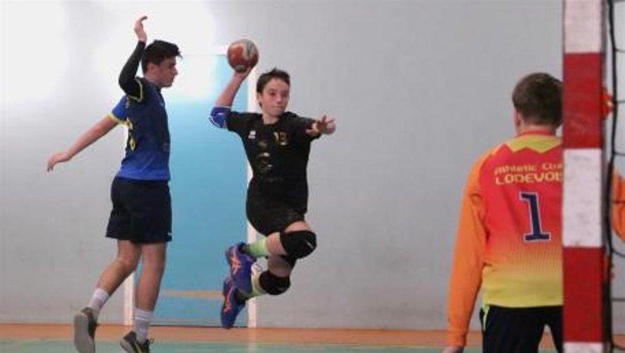 Les équipes de jeunes, espoir du Lévezou-Ségala Handball.