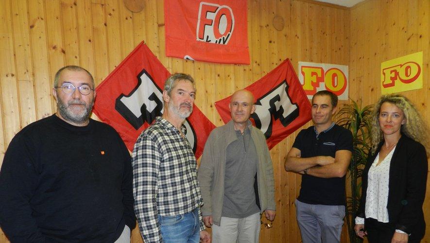 Les représentants de F0 mairie ont tenu conférence de presse dans les locaux de l'union locale.