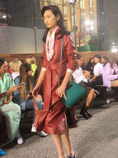 Le défilé Coach organisé à New York pendant la Fashion Week.
